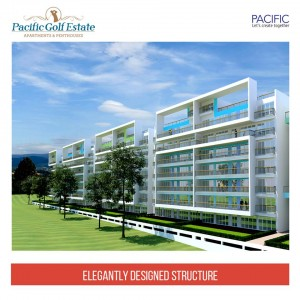 1,2,3 bedroom flats in dehradun - pacific golf estate
