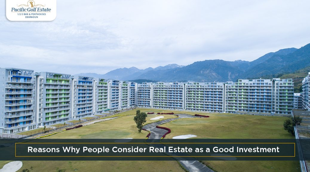 Reasons Why People Consider Real Estate as a Good Investment - The most important reason why people choose real estate over others is the high return value. A wise decision in real estate can bring a lot of money and results in a huge profit. All you need is being a little patient.
