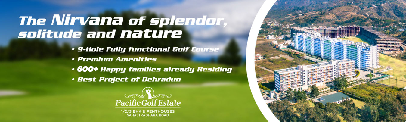 golf view & hill view apartments & penthouse, 1 BHK, 2 BHK, 3 BHK flats in Dehradun