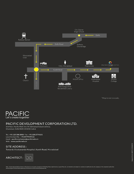 pacific star homes location map